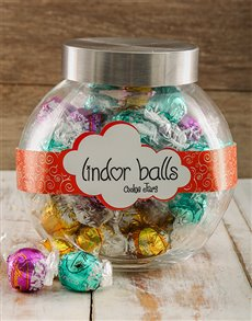 Gifts and Hampers: Lindt Lindor Goodness Candy Jar!