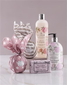 Pampered in Pink Bath and Body Gift