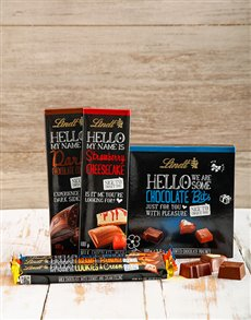 Hello You Lindt Chocolate Hamper