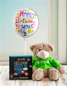 Gifts and Hampers: Hello Teddy Birthday Box!