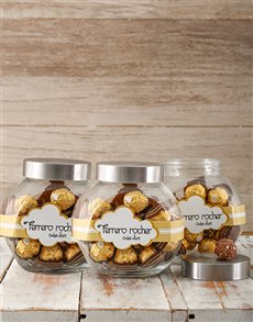 Gifts and Hampers: Ferrero Rocher Candy Jar!