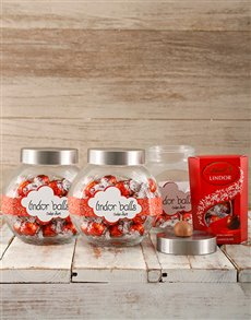 Lindt Candy Jar