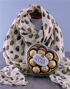 Scarf and Truffles