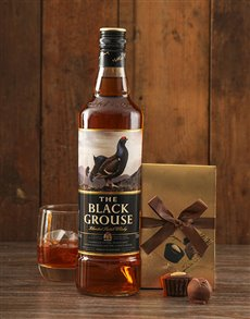 Gifts and Hampers: The Black Grouse Whisky and Truffles!