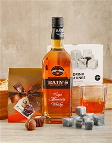 Gifts and Hampers: Bains Whisky Crate!