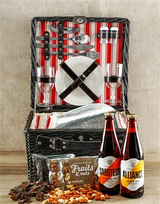 Gifts and Hampers: Nutty Ale Picnic Basket!