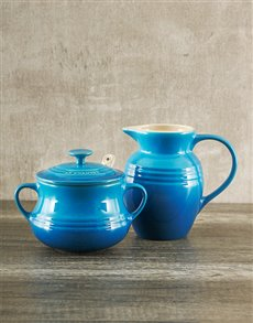 Gifts and Hampers: Le Creuset Cream and Sugar Set!