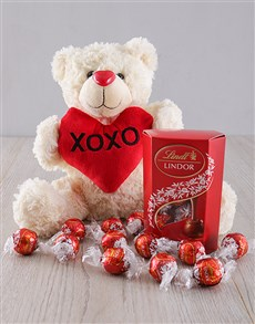 Gifts and Hampers: I Love You Teddy Gift!