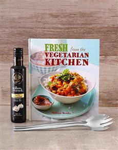 Gifts and Hampers: Fresh from the Vegeterian Kitchen Cookbook!