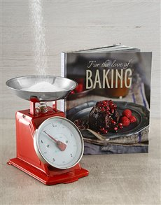 Gifts and Hampers: For the Love of Baking Cookbook!
