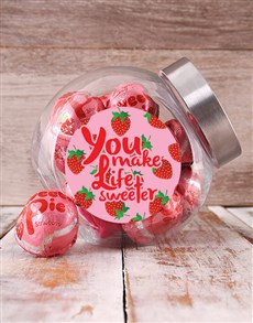 Mother of Sweetie Pie Candy Jars