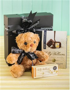 Congratulations - Hampers and Gifts: Congratulations Sally Williams and Teddy Bear Gift!