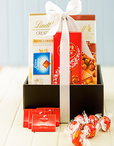Congratulations - Hampers and Gifts: Congratulations Lindt Chocolate Delight!