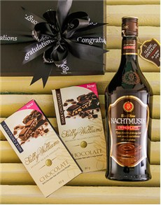 Congratulations - Hampers and Gifts: Congratulations Nachtmusik and Chocs!
