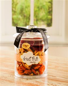 Congratulations - Hampers and Gifts: Congratulationss Mixed Fruit Candy Jar!