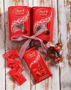 Get Well - Hampers and Gifts: Assorted  Lindt Chocolate Hamper!