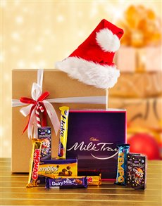 Get Well - Hampers and Gifts: Decadent Cadburys Chocolate Hamper!