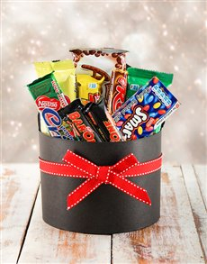 Santa's Hat Box of Chocolates