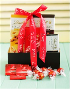 Love and Romance - Hampers and Gifts: Love Lindt Chocolate Delight!