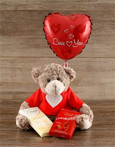 Love Bear with Lindt Chocolates